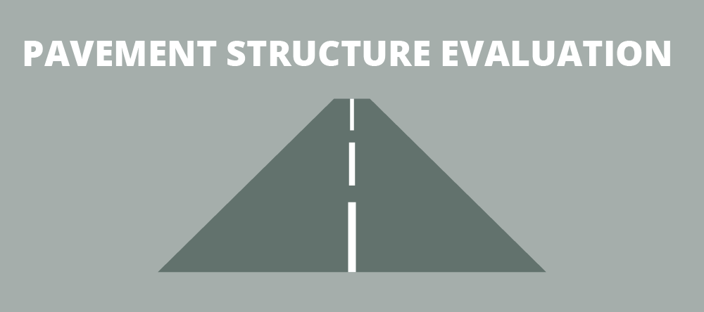 pavement structure evaluation by infrasense
