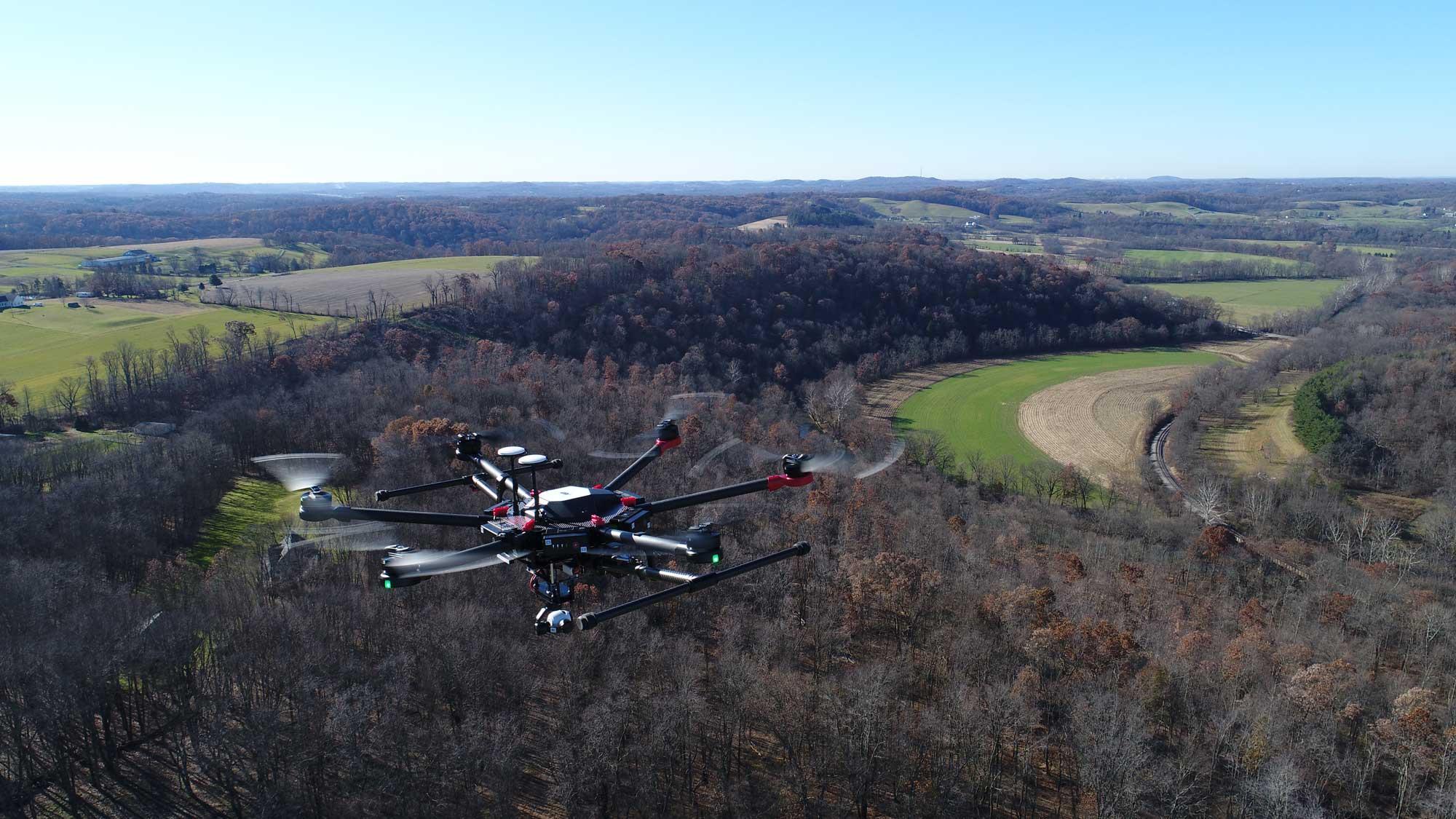 aerial imaging infrasense