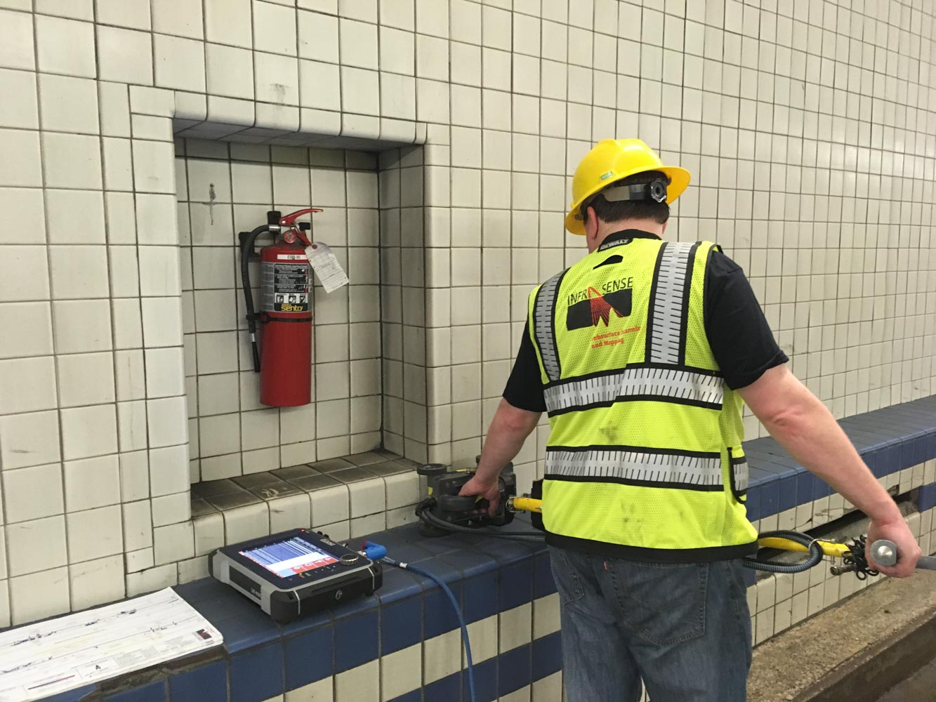 NDE Scanning and Mapping of Hampton Roads Tunnel Conditions